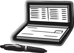 download checkbook coloring pages clipart checks bank clip art