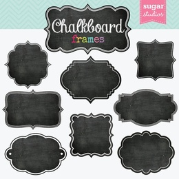 download free chalkboard frame clipart borders and frames picture