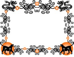 chinese new year border png clipart decorative borders chinese new year clip art