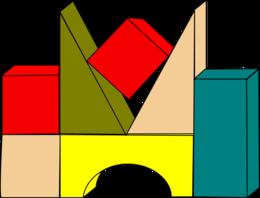 Preschool Building Blocks Clipart