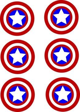 download free printable captain america shield clipart captain