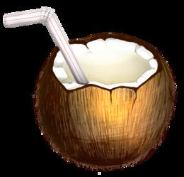 Coconut Drink Transparent Clipart