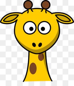cartoon giraffe face clipart Giraffe Clip art