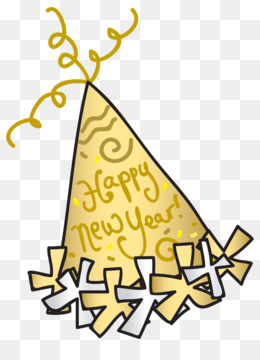 new year hat clipart New Year's Eve Clip art