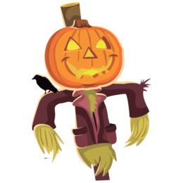 halloween scarecrow clipart Clip art