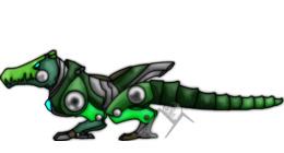 鳄鱼剪纸艺术爬行动物鳄鱼剪辑艺术