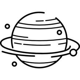 Planet white Transparent Images PNG.