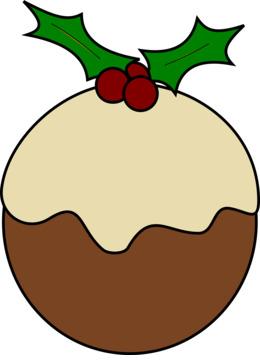 christmas puddings clipart Christmas pudding Clip art