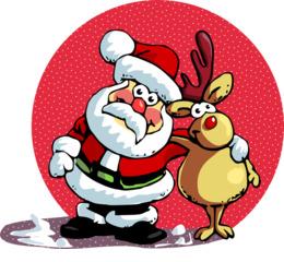 download christmas shopping list and christmas card list santa