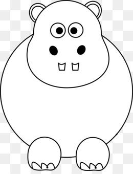 smile clipart Pig Hippopotamus Clip art