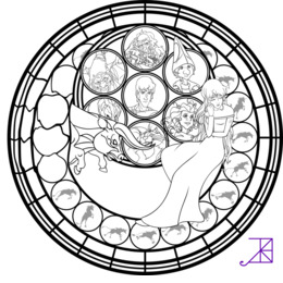 Pages Clipart Sunset Shimmer Stained Glass Coloring Book Applejack Mlp Princess Cadence Cadance Twilight Sparkle Shining Armor