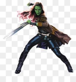 disfraz gamora para mujer clipart Gamora Mantis Rocket Raccoon