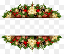 圣诞边框剪辑圣诞节剪辑艺术