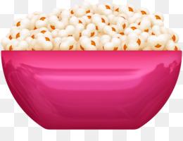 bowl of popcorn clipart Popcorn Kettle corn Clip art