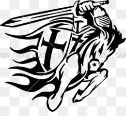 黑白十字军剪辑十字军东征马剪辑艺术