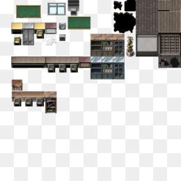 RPG Maker VX Tile-based video game Pixel art Furniture