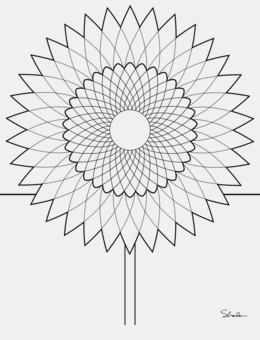 Download Fibonacci Coloring Pages Clipart Book Mandala Colouring