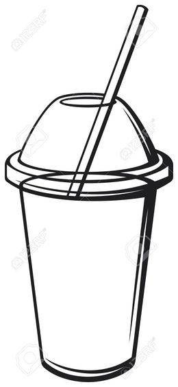 Smoothie Black And White clipart - About 22 free commercial ...
