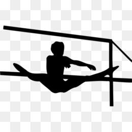 gymnastics uneven bars clipart Gymnastics Uneven bars Clip art