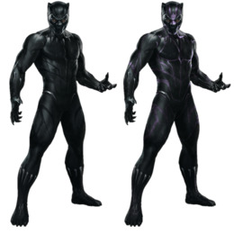 avengers infinity war cardboard cutout clipart Black Panther Thanos Thor