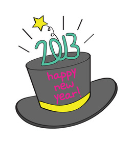 download new year hat clipart new years eve party hat clip art