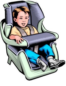 Car Seat Clipart