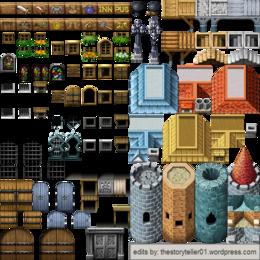 Download rpg maker bridge tileset clipart RPG Maker MV Tile-based