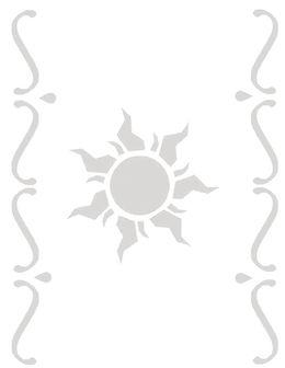 download disney tangled lantern template clipart rapunzel stencil