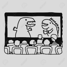 Download Movie Theater Black And White Clipart Cinema Film Clip Art