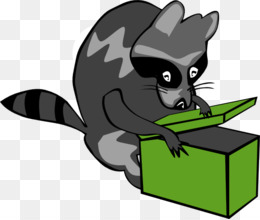moving pictures of raccoons clipart Raccoon Giant panda Clip art