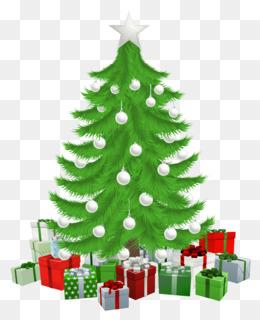 圣诞树与礼物剪辑艺术剪辑艺术圣诞树剪辑艺术
