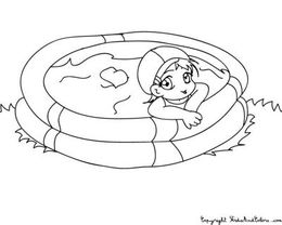 Above Swimming Pool Clipart