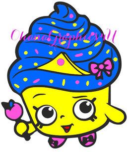 Download shopkins cupcake queen clipart Cupcake Coloring book Clip ...