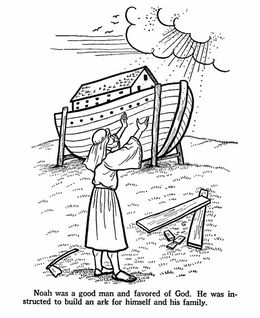 Download Story Of Noah Coloring Pages Clipart And The Ark Bible Colouring