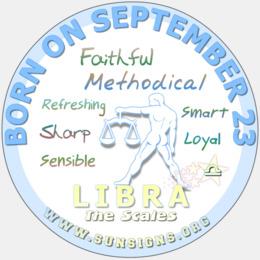 august 23rd birthday - virg square sticker 3