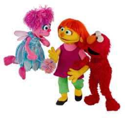 julia elmo clipart Elmo Julia Abby Cadabby