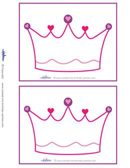 Download free printable crown templates clipart Tiara Paper Crown