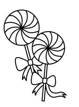 Download lollipop coloring pages printable clipart Lollipop Coloring ...