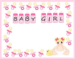 Download baby shower messages for baby girl clipart wedding download baby shower messages for baby girl clipart wedding invitation greeting note cards baby shower m4hsunfo