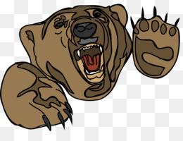 bear attack clipart American black bear Clip art