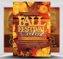 download fall flyers clipart free fall festival flyer templates