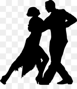 跳舞轮廓png剪纸艺术舞蹈剪辑艺术
