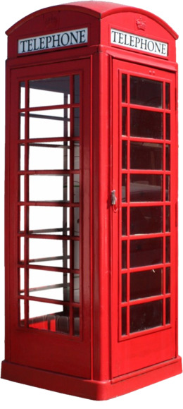 strand, london clipart Red telephone box Telephone booth Clip art