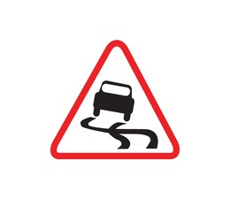 download slippery road sign clipart traffic sign warning sign road