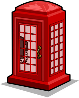 telephone booth club penguin clipart Telephone booth Red telephone box Clip art