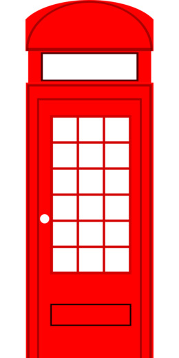 london telephone box cartoon clipart Red telephone box Telephone booth Clip art