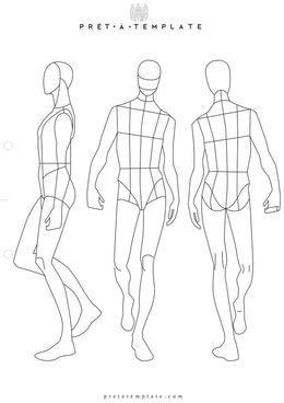 download mens fashion template clipart fashion illustration fashion