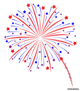 new year s fireworks border clipart
