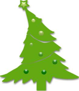 圣诞树剪辑圣诞树云杉剪辑艺术