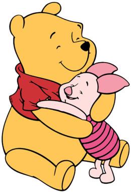 小熊维尼和小猪的爱剪报